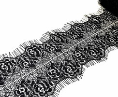 Lace, lace trim, embroidery lace