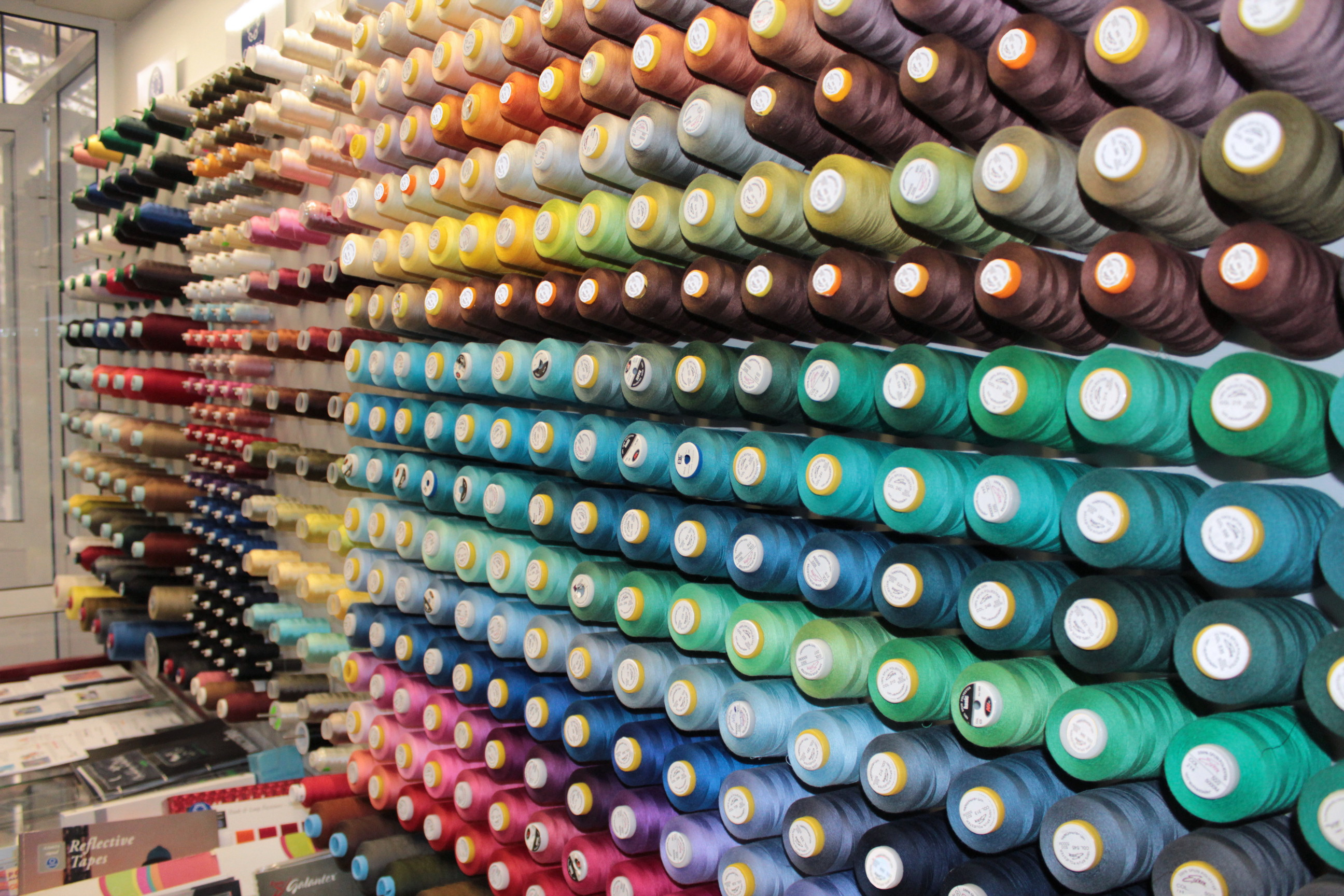 The biggest assortment of sewing threads in Belarus!